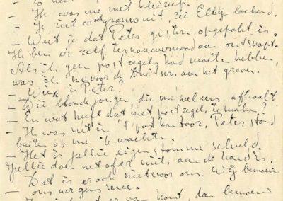 Handschrift Kort Amerikaans, ca. 1961